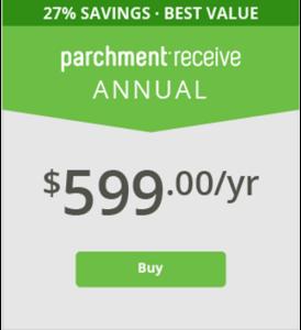 Annual Parchment Receive Plan - $599/yr
